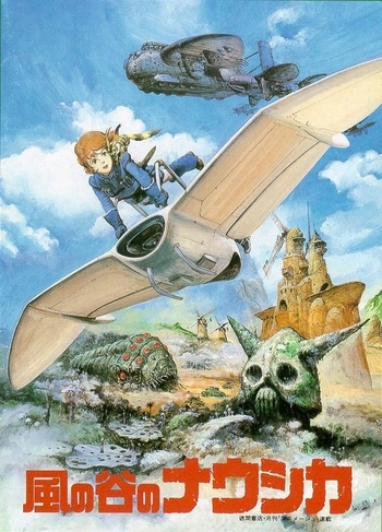 Nausicaa Of The Valley Of The Wind Map.Nausicaa Of The Valley Of The Wind Manga Tv Tropes