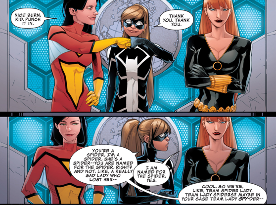 Spider woman comic book tv tropes