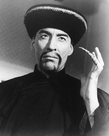 Image result for fu manchu