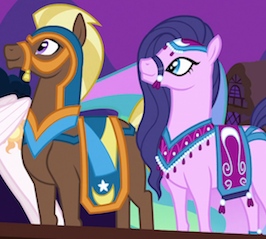 https://static.tvtropes.org/pmwiki/pub/images/1364057__safe_screencap_amira_haakim_princesscelestia_magicduel_blankflank_pony_saddlearabian.png