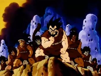 Dragon Ball Saiyans / Characters - TV Tropes