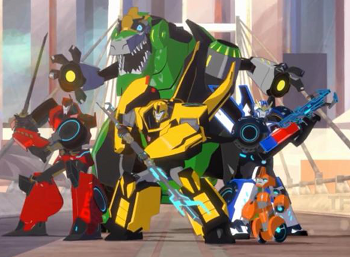 transformers robots in disguise western animation tv