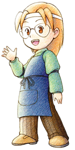 Harvest Moon: Mineral Town / Characters - TV Tropes