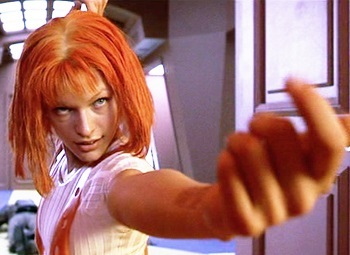 Girl off fifth element nude