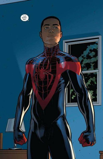 fa6af0e9d81072 Miles Morales (Comic Book) - TV Tropes
