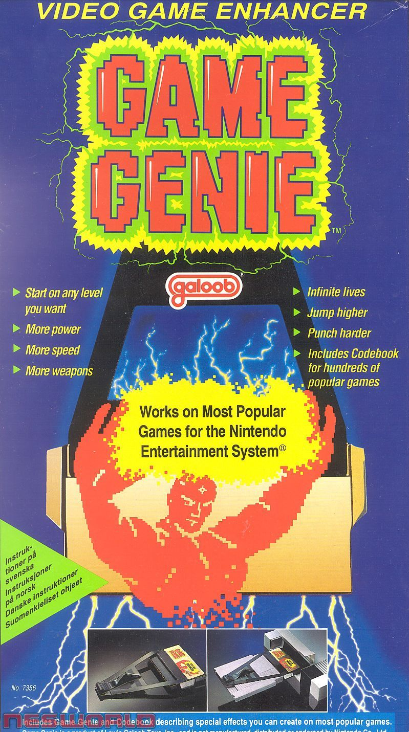 Game boy color game genie codes - Video Game Game Genie