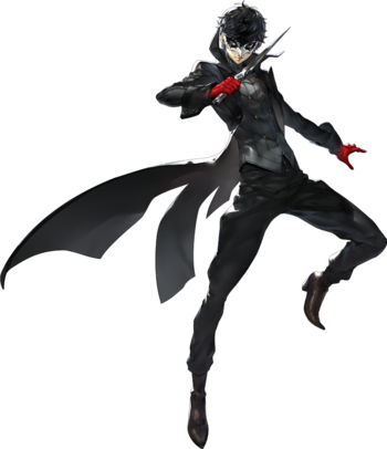 Persona 5: The Phantom Thieves of Hearts - First Half / Characters