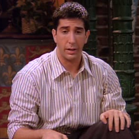 Ross geller dating history