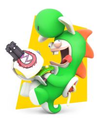 Mario Rabbids Kingdom Battle Characters Tv Tropes