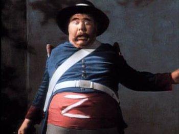 Zorro (1957) / Funny - TV Tropes