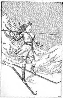 http://static.tvtropes.org/pmwiki/pub/images/220px-Skadi_Hunting_in_the_Mountains_by_H__L__M_9296.jpg