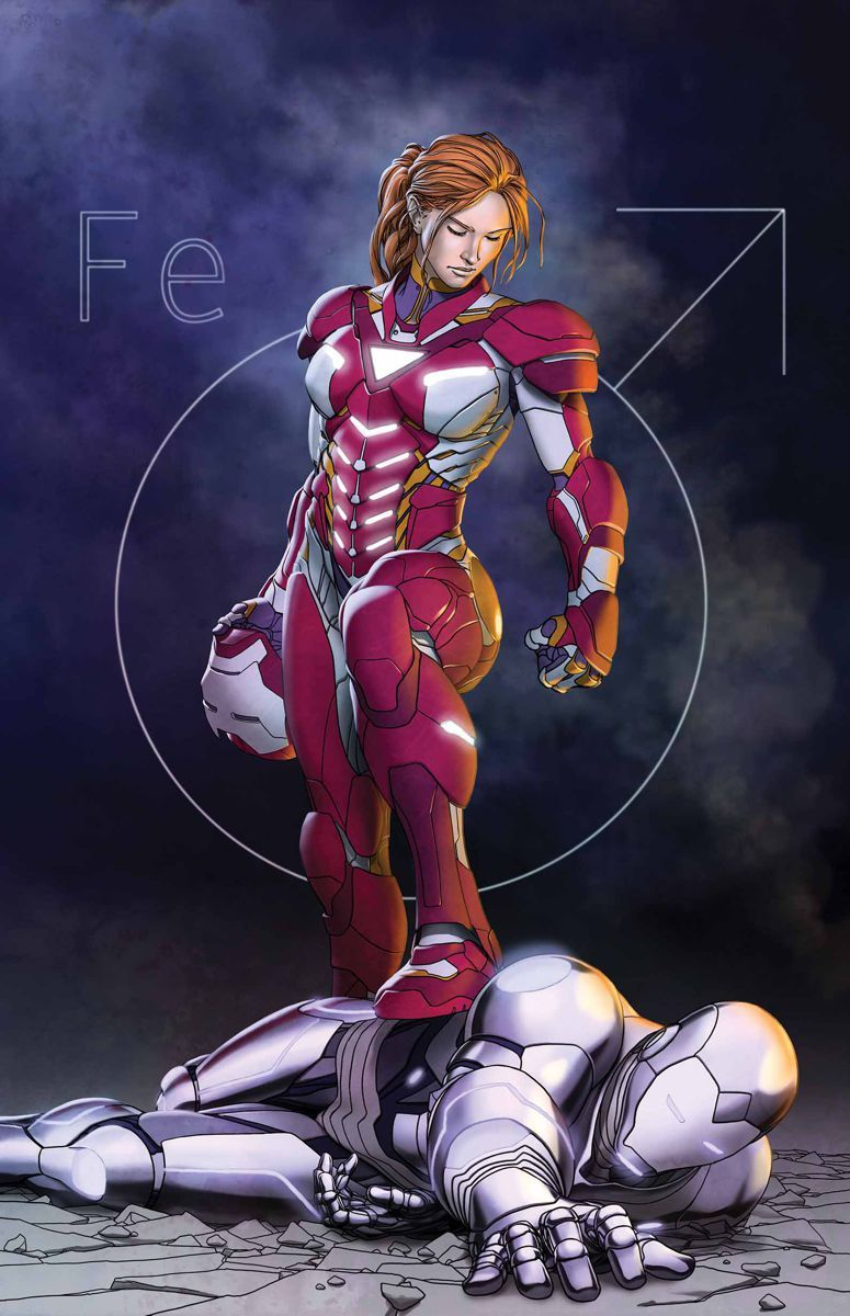 pepper potts  comic book