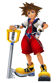 Click Here Statictvtropesorg Pmwiki Pub Images To See Sora As He Appears In Kingdom Hearts