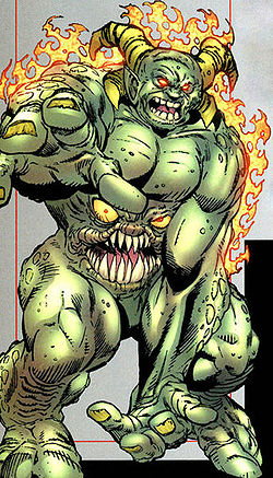 Image result for fat belly mouth monster