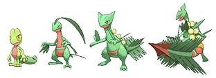 Pok 233 Mon Generation Iii Treecko To Sharpedo Characters