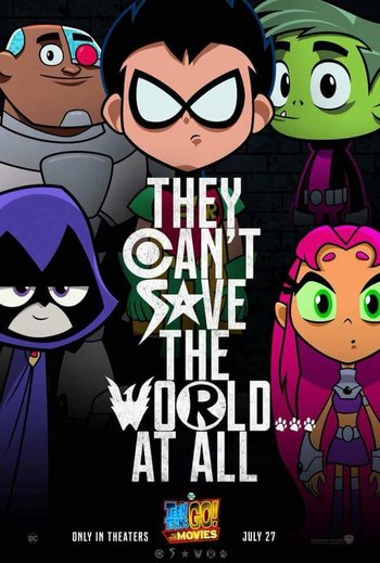 teen titans go to the movies western animation tv tropes