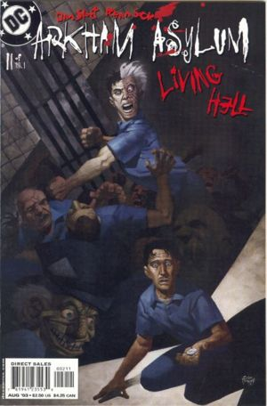 Arkham Asylum Living Hell Comic Book Tv Tropes