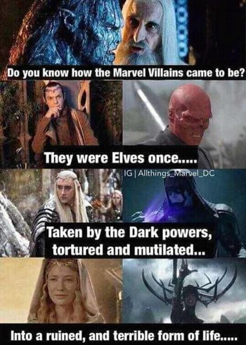 Goddess Of Death Marvel Cast Lord Of Ring