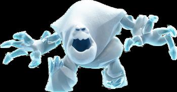 Eiskönigin Schneemonster