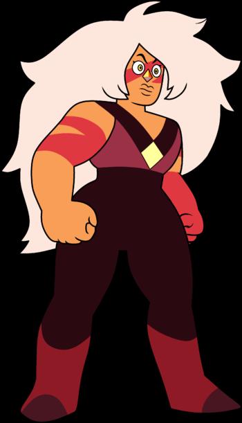 Steven Universe Concept Art Jasper