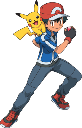 Pokemon And Y Cartoon Characters : Pokémon anime ash and pikachu characters tv tropes