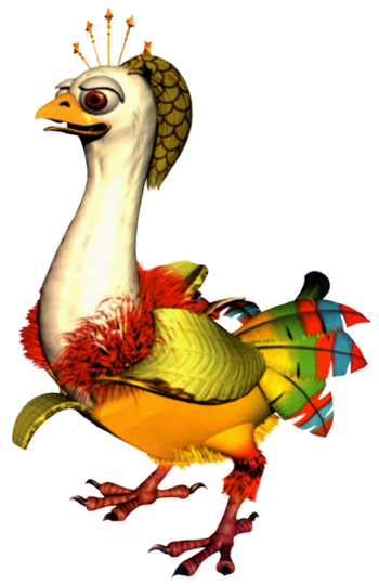 https://static.tvtropes.org/pmwiki/pub/images/389px_banana_bird_queen.png