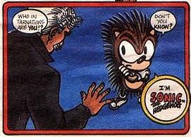 Sonic The Hedgehog Promo Comic Comic Book Tv Tropes