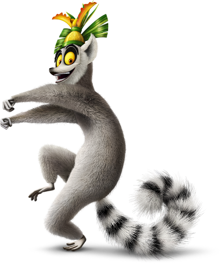 Image result for lemur character madagascar movie