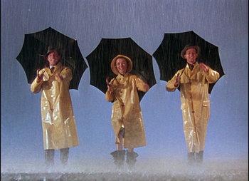 plot of singing in the rain