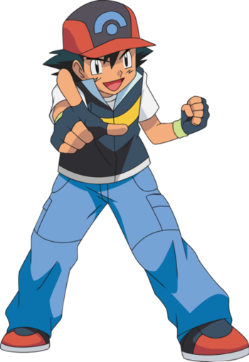pok233mon anime ash and pikachu characters tv tropes
