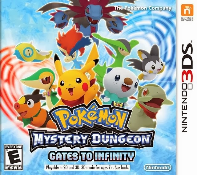 pok mon mystery dungeon gates to infinity video game. Black Bedroom Furniture Sets. Home Design Ideas