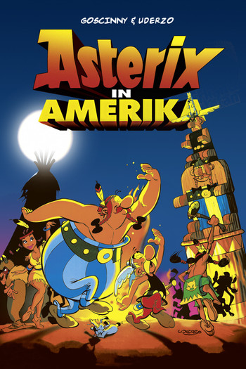 asterix conquers america  western animation