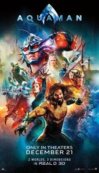 aquaman 2018 film tv tropes