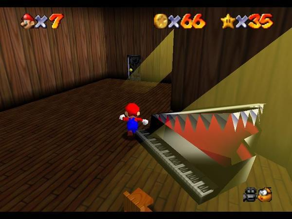 Super Mario 64 Nightmare Fuel Tv Tropes