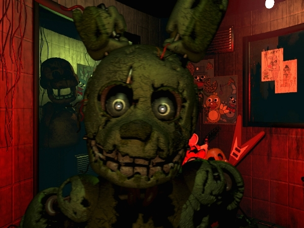 Five Nights At Freddys 3 Nightmare Fuel Tv Tropes
