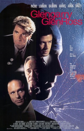 an analysis of the character of truth in death of a salesman by glengarry glen ross A description of tropes appearing in glengarry glen ross notable for its flagrant use of profanity (which caused the cast and crew to refer to the movie as  death of a fuckin' salesman), no-holds-barred take on human savagery in sales , and anti-hero: none of the characters are what you'd consider to be good people.