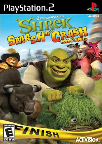 Shrek Smash N Crash Racing Video Game Tv Tropes
