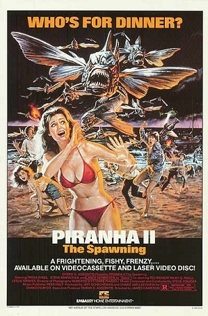 Piranha Part Two: The Spawning (Film) - TV Tropes