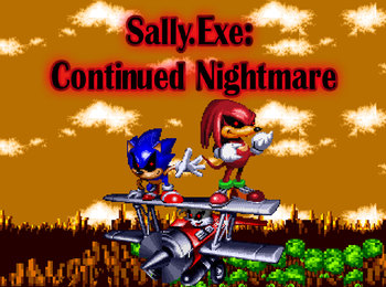 Sally exe Continued Nightmare: Eye of Three (Video Game) - TV Tropes