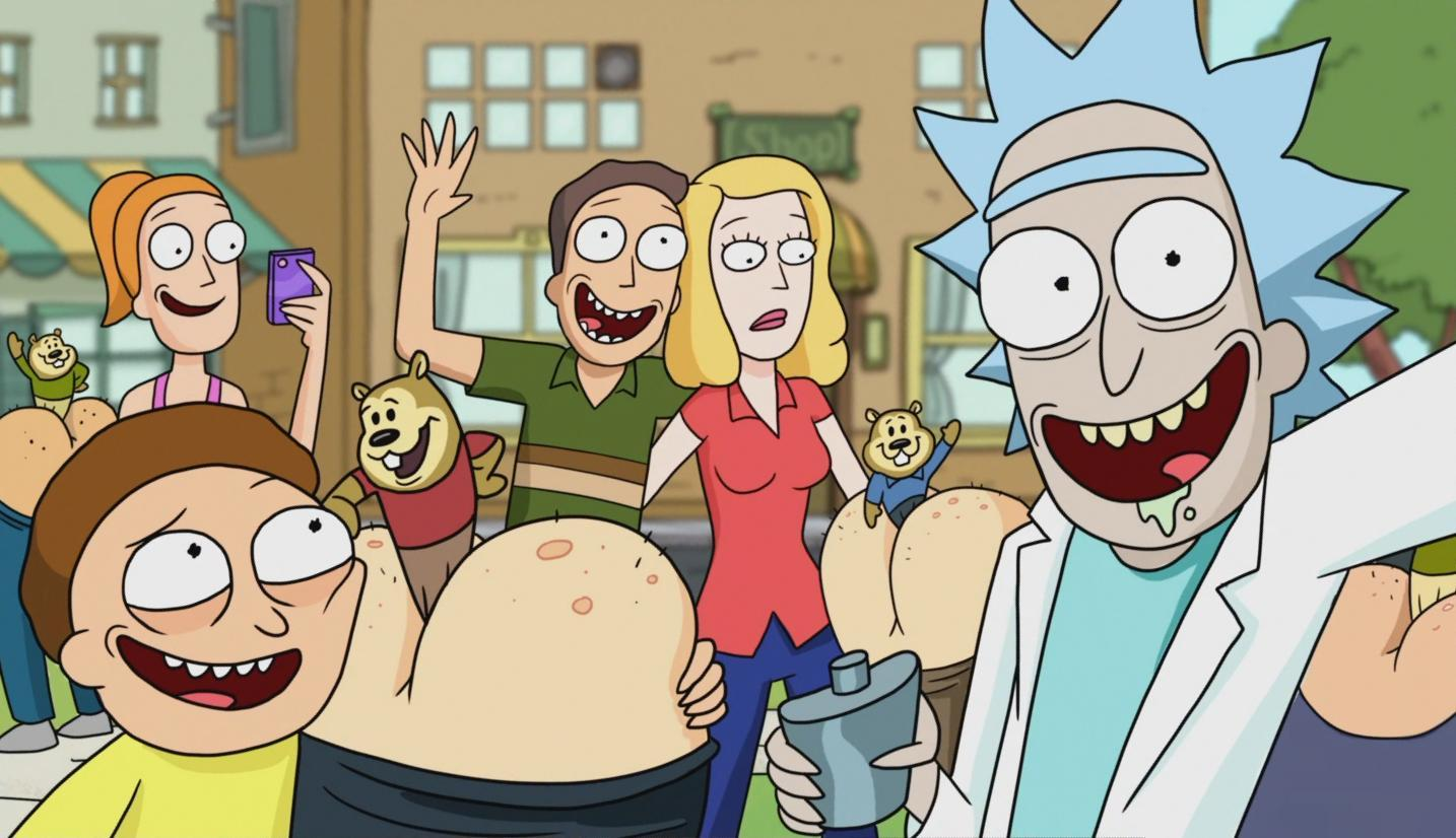 rick and morty online