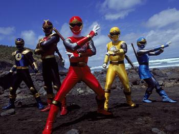 Power Rangers Ninja Storm (Series) - TV Tropes