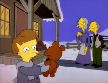 The Simpsons S5 E4 Rosebud Recap Tv Tropes
