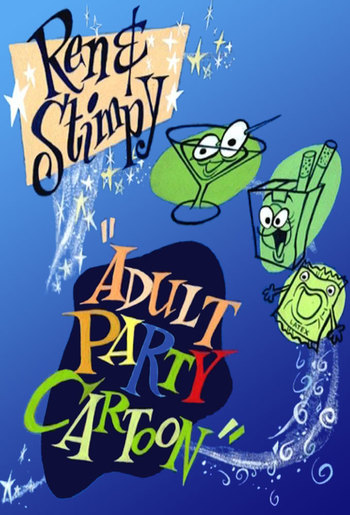 "Ren & Stimpy ""Adult Party Cartoon"" (Western Animation ..."