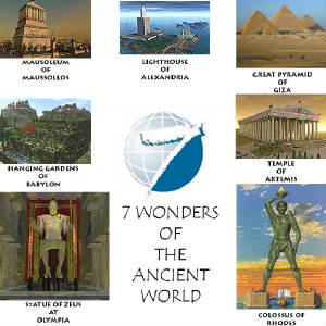 essay on seven wonders of india