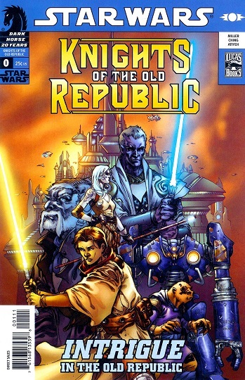 Knights Of The Old Republic Comicbook Tv Tropes