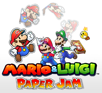 Mario Luigi Paper Jam Video Game Tv Tropes