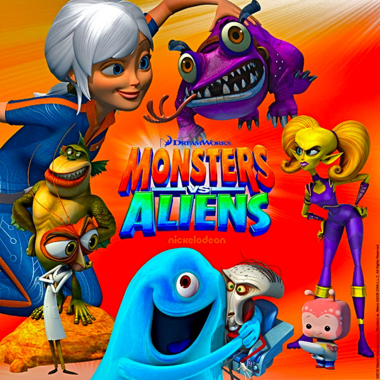 Kids dream monsters aliens hoopla
