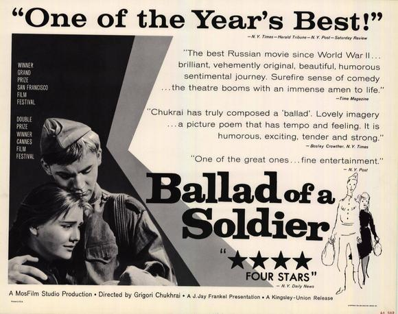 Ballad of a Soldier (Film) - TV Tropes