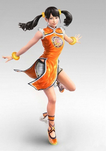 ling xiaoyu fighting style