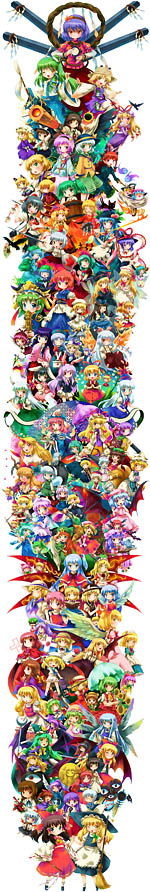 Touhou all characters